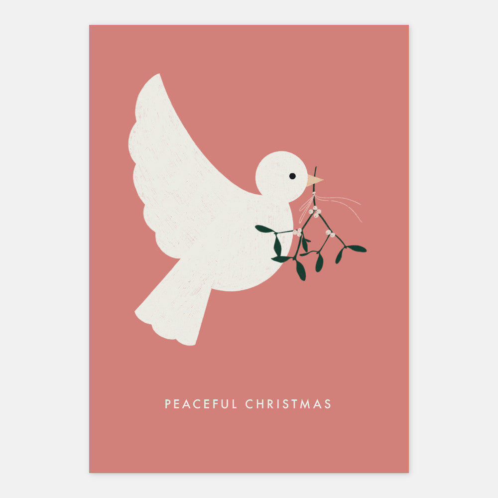 Peaceful Christmas Postcard