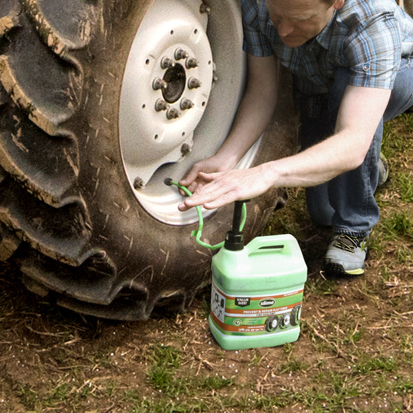 Lawn And Garden Tire Sealant 1 Gallon Slime Slime