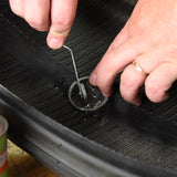 Slime Deluxe Tire Patch Kit & Glue #2030-A