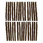Slime Extra Wide Tire Repair Plugs (30 Count Brown) #20141