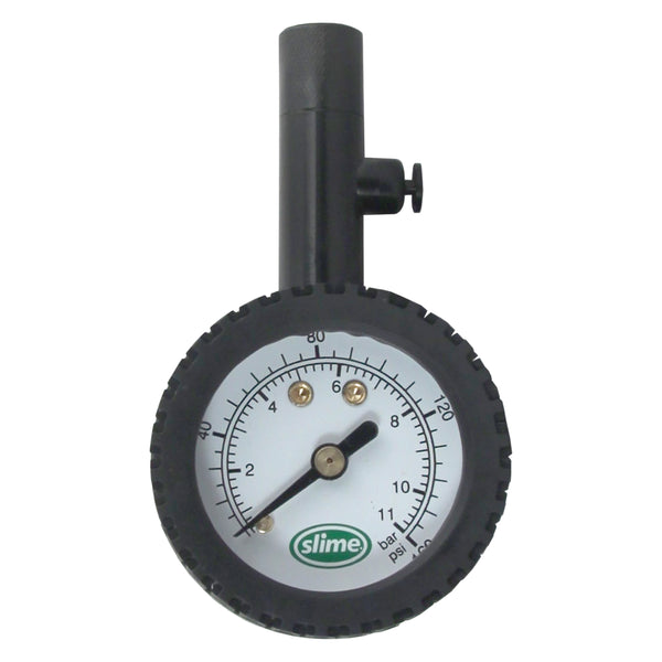 Slime High Pressure Dial Tire Gauge (10-160 psi ) #20186