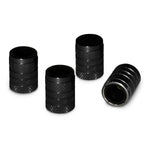 Slime Barrel Valve Caps Jet Black #20324