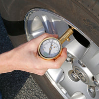 Slime Brass Dial Tire Gauge (5-60 psi) #20459