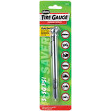 Slime Chrome Pencil Tire Gauge (5-50 psi) #22012