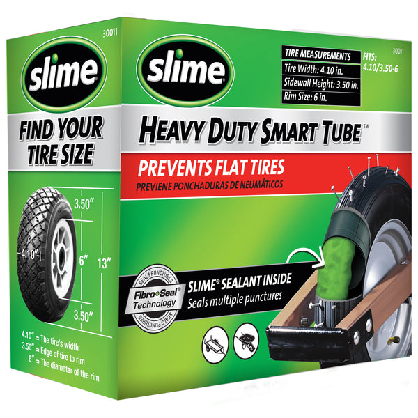 "Slime Wheelbarrow Self-Sealing Inner Tubes (6"" and 8"") #30011"