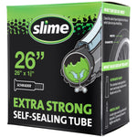 "Slime Extra Strong Self-Sealing Bicycle Tubes 26"" x 1.375"" Schrader #30044"