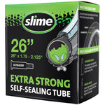 "Slime Extra Strong Self-Sealing Bicycle Tubes 26"" x 1.75-2.125"" Schrader #30045"