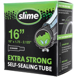 "Slime Extra Strong Self-Sealing Bicycle Tubes 16"" x 1.75-2.125"" Schrader #30051"