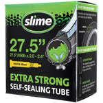 "Slime Extra Strong Self-Sealing Bicycle Tubes 27.5"" x 2.0-2.40"" Presta #30076"