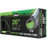 "Slime Super Thick Self-Sealing Bicycle Tubes 26"" x 1.75-2.125"" Schrader #30081"