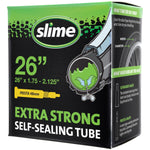"Slime Extra Strong Self-Sealing Bicycle Tubes 26"" x 1.75-2.125"" Presta #30084"