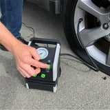 Slime Dual Power All Purpose Tire Inflator (120V/12V) #40065