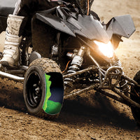Tire sealant in an ATV