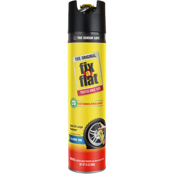 Fix-a-Flat 24 oz #S60369 Front of Can