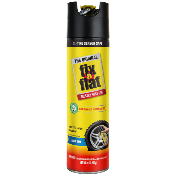 Fix-a-Flat 20 oz #S60430 Front of Can