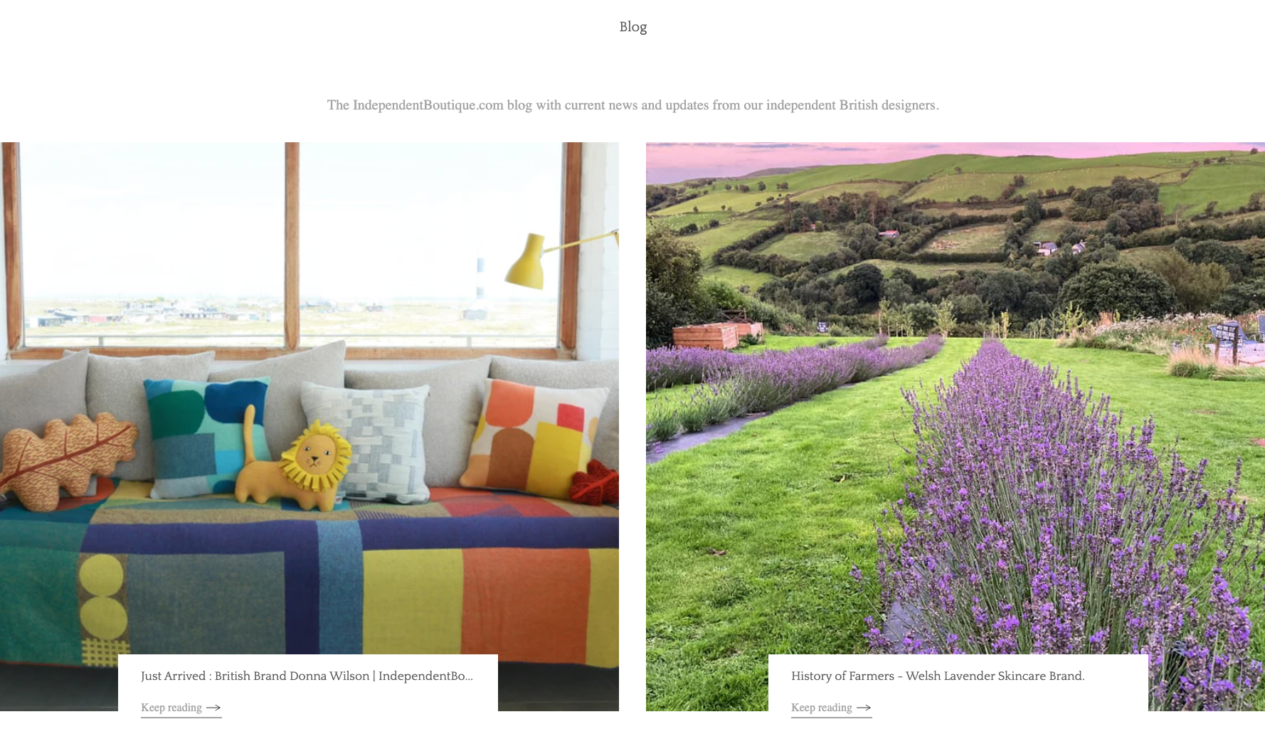 feature on our blog images from donna wilson and lavender field