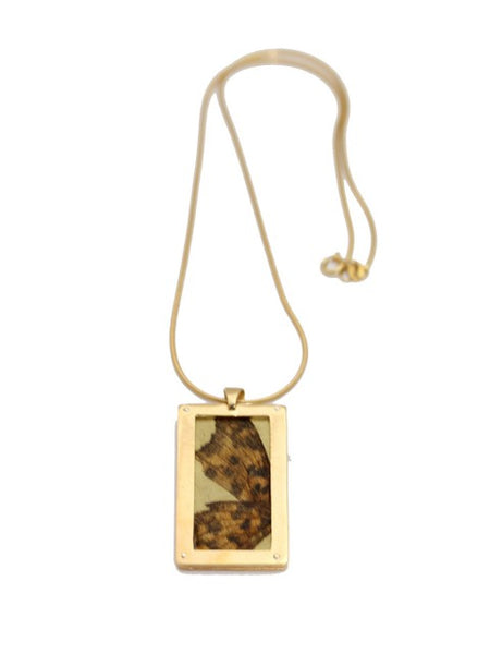 Butterfly Rectangle Pendant - IndependentBoutique.com