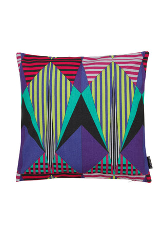 Peacock Aztec Cushion Cover