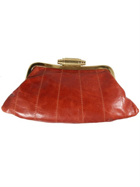 Tan Fandango Clutch - IndependentBoutique.com