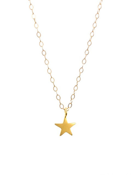 Gold Star Necklace - IndependentBoutique.com