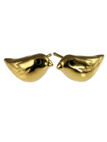 Golden Sparrow Ear Studs - IndependentBoutique.com