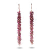 Pink Tourmaline Ombré Earrings - IndependentBoutique.com