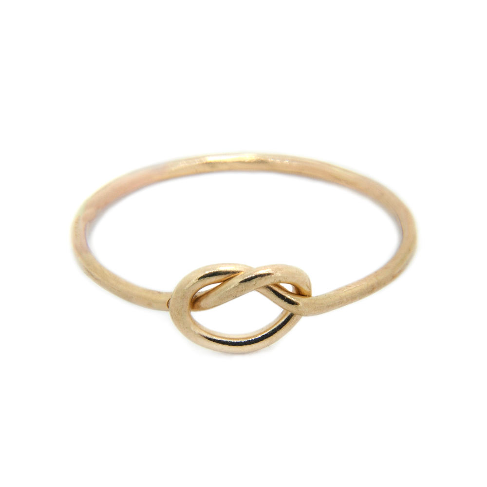 Forget Me Knot - 9ct Gold Love Knot Ring - IndependentBoutique.com