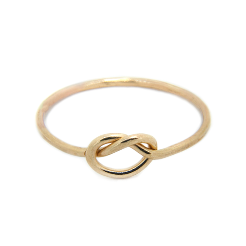 Forget Me Knot - 9ct Gold Love Knot Ring