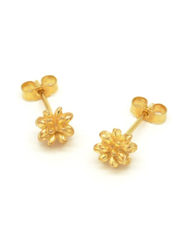 Pollen Stud Earrings Gold
