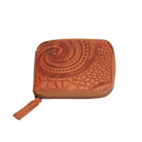 Tan Rudy Rectangle Purse - IndependentBoutique.com