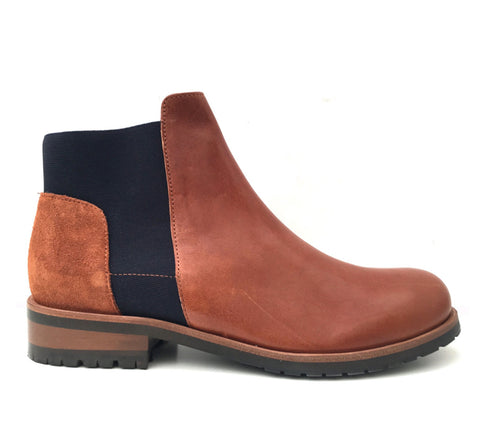 Tula Chestnut Boots