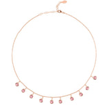 Pink & Rose Gold Necklace - IndependentBoutique.com