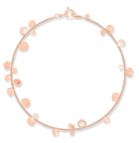 Stardust Cluster Rose Gold Bracelet - IndependentBoutique.com