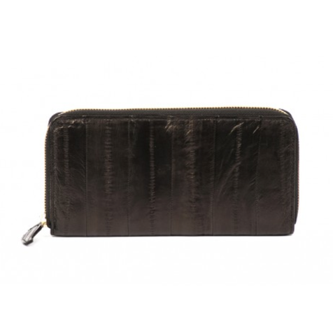 Large Zip Purse - Black - IndependentBoutique.com