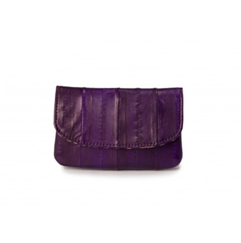 Small Coin Purse - Aubergine