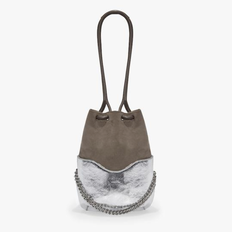 Silver Hetty Cross Body Bag