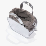 Silver rosetta Cross Body bag