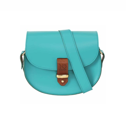 Aquamarine Victoria Saddle Bag - IndependentBoutique.com