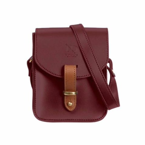 Oxblood Elizabeth Mini Satchel - IndependentBoutique.com