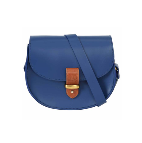 Blue Victoria Saddle Bag - IndependentBoutique.com
