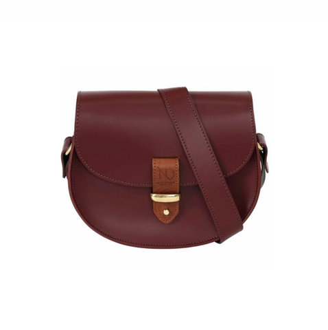Oxblood Victoria Saddle Bag - IndependentBoutique.com