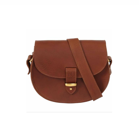 Tan Victoria Saddle bag