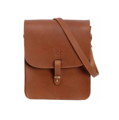 Tan Elizabeth Satchel