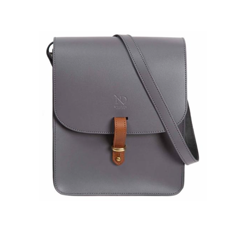 Grey Elizabeth Satchel - IndependentBoutique.com