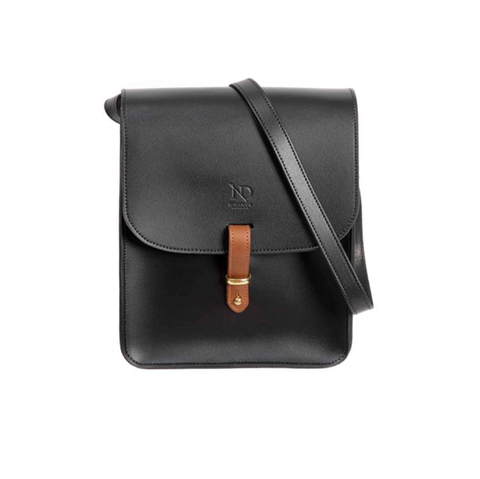 Black Elizabeth Satchel - IndependentBoutique.com