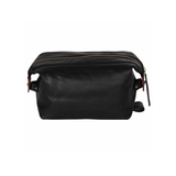 Cognac Sloane Toiletry Case - IndependentBoutique.com
