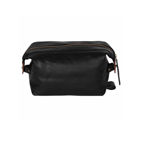 Black Sloane Toiletry Case - IndependentBoutique.com