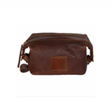 Cognac Sloane Toiletry Case