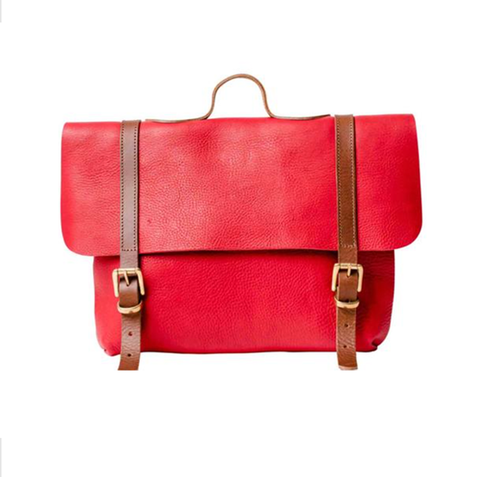 Apple Red Trilogy-Lux Satchel Rucksack - IndependentBoutique.com