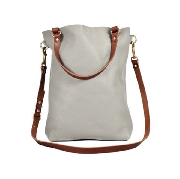 The N'damus Grey Shoulder Bag